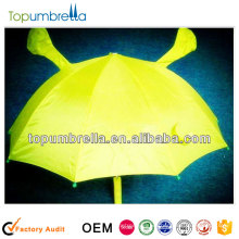 19 inches 8 ribs cartoon umbrellas fluorescent